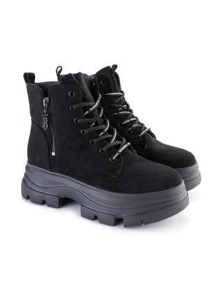 Женские ботинки милитари