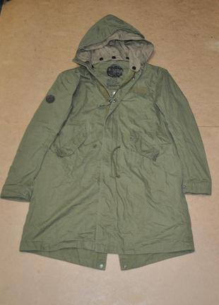 Pretty green мужская парка куртка