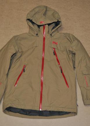 Helly hansen утепленная горнолыжная женская куртка hh