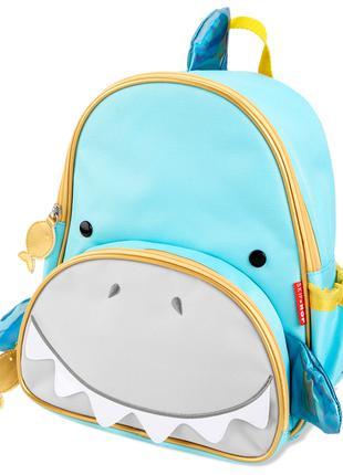 """Детский рюкзак Skip Hop Zoo """"Акула"""". Оригинал"""