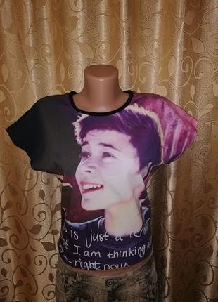 🔥🔥🔥стильная женская новая футболка, топ с принтом danish desig...