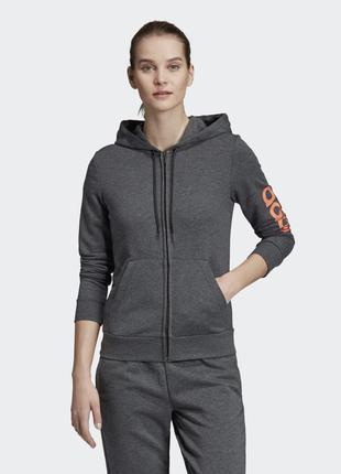 Женская толстовка adidas essentials linear ei0660
