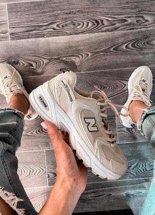 New balance 530 beige  шикарные женские кроссовки 😍