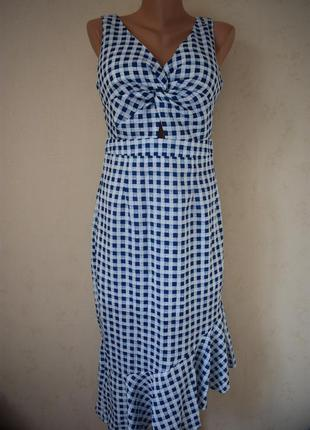 Новое красивое платье с принтом
