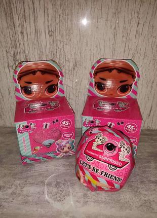 Кукла Лол большой шар сюрприз 10 см