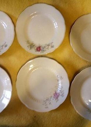 Набор закусочных тарелок Тарелки