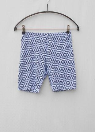 Хлопковые лосины - шорты