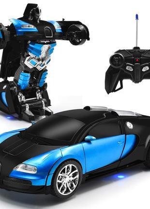 Машинка Робот Трансформер Аккумуляторный Deformation Автобот 22см