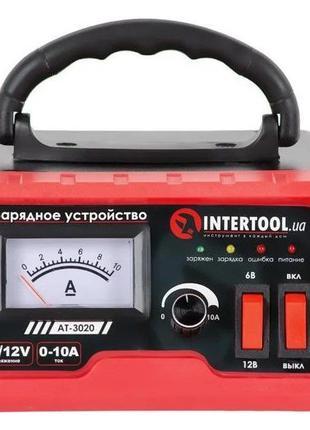 Зарядное устройство для автомобильного аккумулятора INTERTOOL ...
