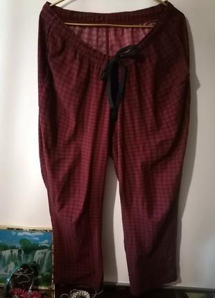 Мужские домашние штаны большой размер m&s