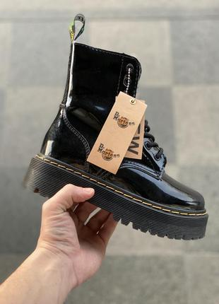 Ботинки dr. martens two black