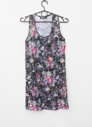 Кружевное летнее платье  туника пляжная