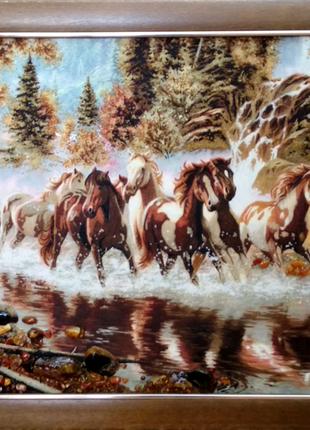 """Картина """"Табун лошадей"""""""