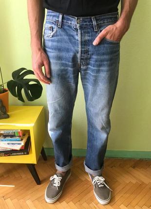 Мужские джинсы levis 501 размер 32, левис tommy lee