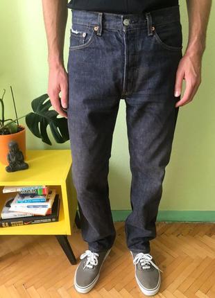 Мужские джинсы levis 501 размер w32 l32 левис wrangler straight