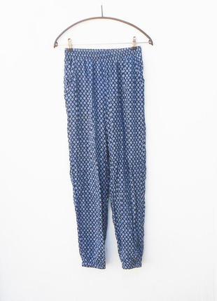 Летние легкие  свободные брюки из вискозы 🌿