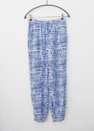 Летние легкие  свободные брюки из вискозы