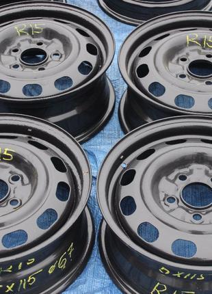 Стальные диски R15 5*115 dia 67 из Германии в идеальном состоянии