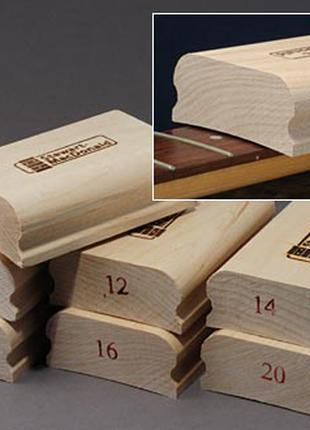 Радиусный шлифовальный брусок блок для шлифовки грифа