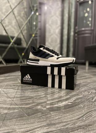 Кроссовки adidas zx 500 violet grey