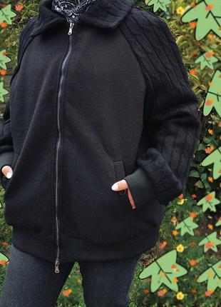 Женская оригинальная куртка,пальто,бомбер,батал,большой размер