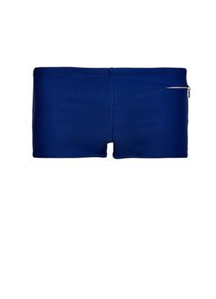 Мужские синие плавки шорты jockey