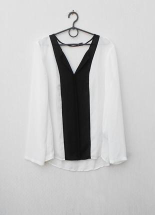 Летняя легкая блузка с длинным рукавом