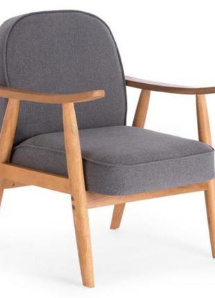 Новое кресло с деревянными подлокотниками Halmar, Польша
