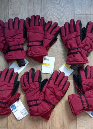 Новые фирменные лыжные перчатки кривит CRIVIT