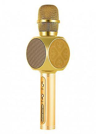 Беспроводная портативная колонка + караоке микрофон 2 в 1 YS-63