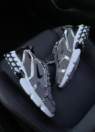 Nike air zoom spiridon cage 2 stussy pure platinum.