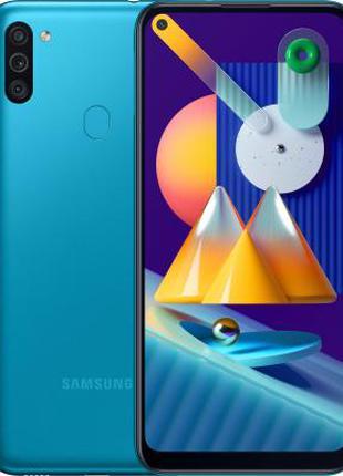 АКЦИЯ Мобильный телефон Samsung Galaxy M11 3/32Gb Blue
