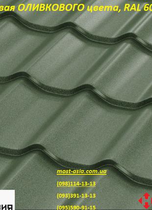 Матовая RAL 6020 оливковая, темно-зеленая, мох