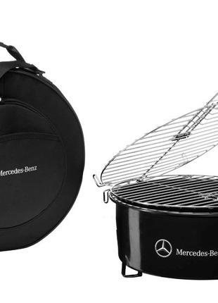 Оригинальный мангал гриль барбекю BBQ Mercedes, подарок мужчине
