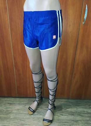 Шорты женские синие спортивные р. 44
