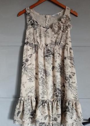 Стильное платье. воздушный сарафан .
