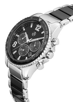 Новые наручные мужские часы хронограф Mercedes Ceramic B66952493