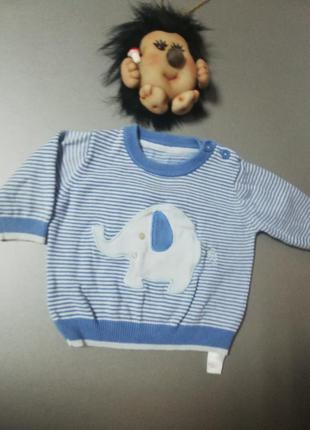 """Реглан для малыша 1-3 месяца """"george"""""""