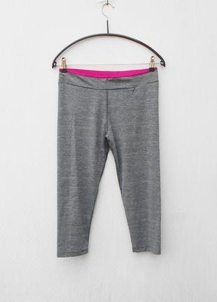 Серые спортивные лосины женская спортивная одежда extend
