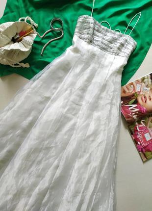 Винтажное свадебное платье, ампир греческий стиль, открытая сп...