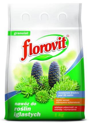 FLOROVIT добриво для хвойних 1кг. ФЛОРОВІТ