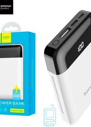 Power Bank Hoco J31 Pride 10000 mAh Original белый