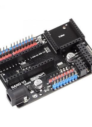 Плата расширения для Arduino Nano V3.0, I/O
