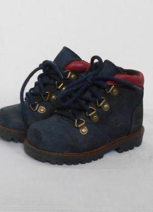 Кожаные демисезонные ботинки тимберленды creeks
