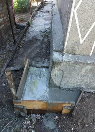 Посилення Углов Старого Будинку/Хати Шляхом бетонування