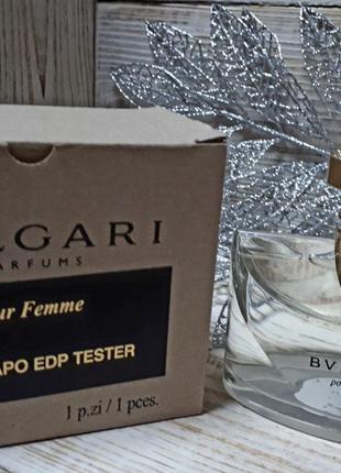 Духи тестер bvlgari pour femme eau de parfum 100ml
