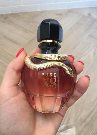 Paco rabanne pure xs for her парфюмированная вода, тестер