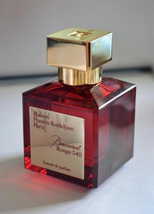 Maison francis kurkdjian baccarat rouge 540 духи, тестер