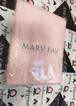 Банное розовое полотенце, 100% хлопок мери кей mary kay
