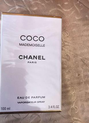Chanel coco mademoiselle парфюмированная вода